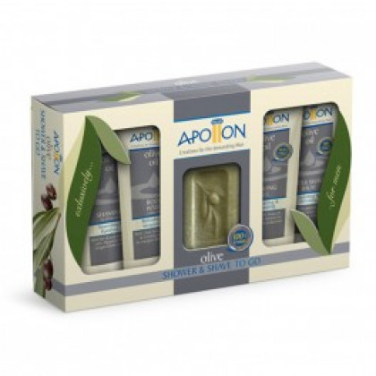 Набор для душа и бритья, APOLLON (Аполлон), 155 гр. - Афродита, Греция