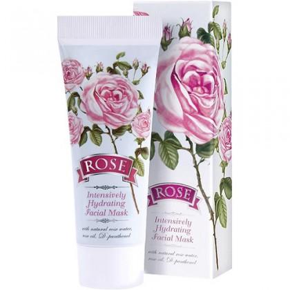 Маска для лица Rose с розовым маслом увлажняющая, 75 мл. - Болгарская роза, Болгария