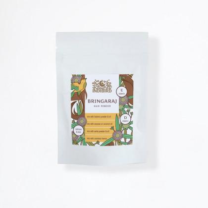 Брингарадж - аюрведический травяной порошок для волос, 200 гр. - Indibird, Индия