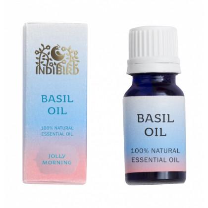 Эфирное масло Базилик, 10 мл. - Indibird, Индия