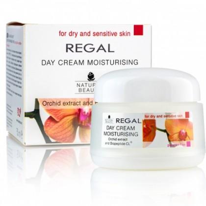 Дневной увлажняющий крем с Орхидеей для сухой кожи Natural Beauty, 50 мл.- Regal, Болгария