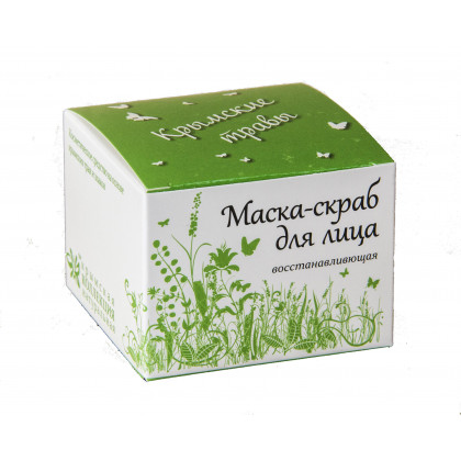 Маска для лица Крымские травы