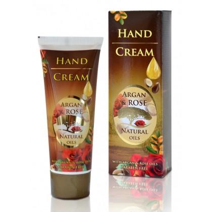 Крем для рук с аргановым маслом и маслом Дамасской розы Argan Rose