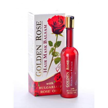 Бальзам маска для роста волос с Розовым маслом Golden Rose, 250 мл. - Bulfresh, Болгария