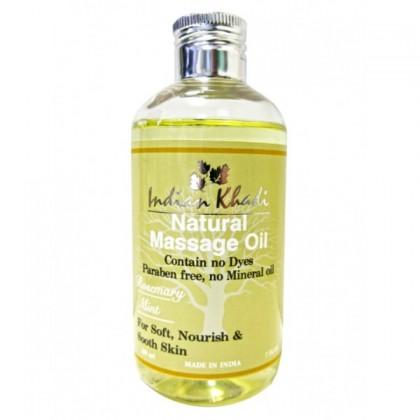 Массажное масло Мята-Грепфрут, 200 мл.- Indian Khadi