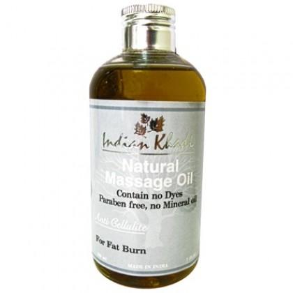 Антицеллюлитное массажное масло, 200 мл. - Indian Khadi