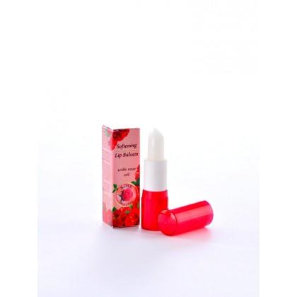 Смягчающий бальзам для губ (помада), Rose Natural, 5 мл. - Bulfresh, Болгария