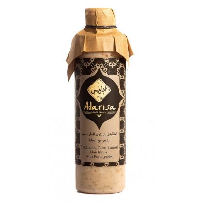 Традиционный бальзам для волос на основе оливы и лавра с хельбой - Adarisa, Кувейт