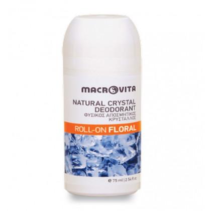"""Шариковый дезодорант """"Природный кристалл"""" с ароматом папайи Floral"""