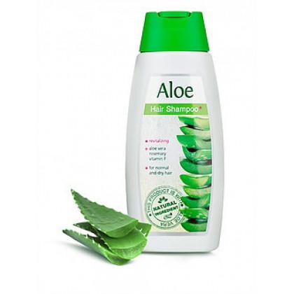Тонизирующий шампунь для нормальных и сухих волос с алоэ Вера
