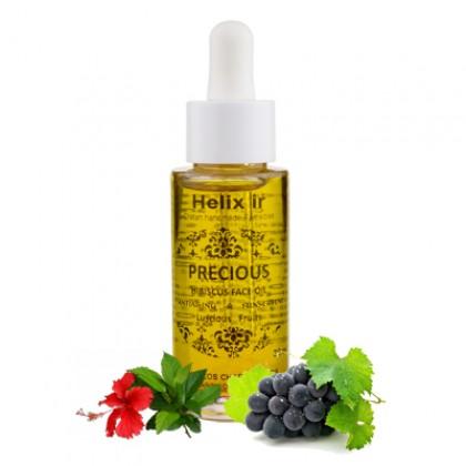 Антивозрастное масло для лица с гибискусом и фруктами, 30 мл. - HELIX IR, Греция
