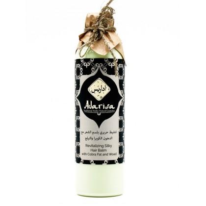 Комплексный бальзам для всех типов волос с пептидами шелка и льном, 250 мл. - Adarisa, Кувейт