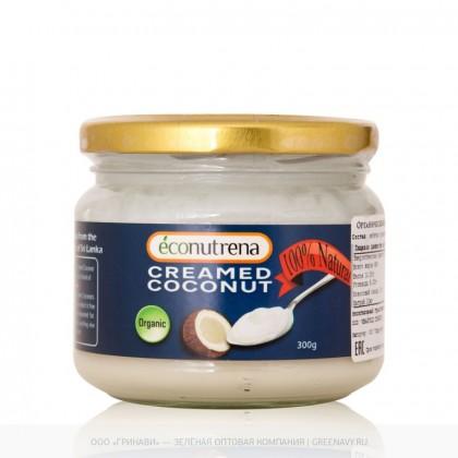 Органический кокосовый крем (Econutrena Organic Coconut Milk), 300 гр - Econutrena, Шри Ланка