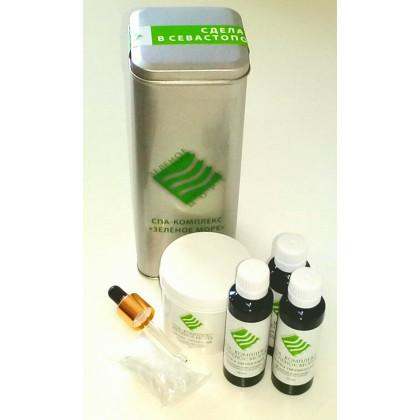 СПА-комплекс для стимуляции роста волос Зеленое море