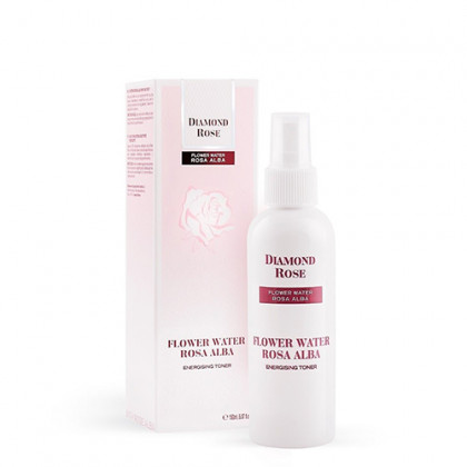 Освежающая розовая вода-Тоник Белая Роза Diamond Rose