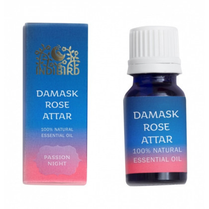 Эфирное масло Роза Дамасская АТТАР, 5 мл. - Indibird, Индия