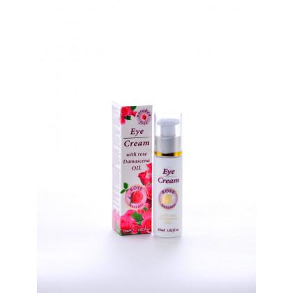 Омолаживающий крем для глаз, 35 мл.Rose Natural – Bulfresh, Болгария