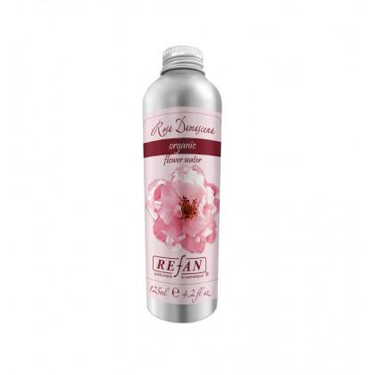 """Органическая розовая вода """"Роза дамасцена"""""""