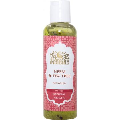 Гель для умывания лица Ним Чайное дерево Без сульфатов