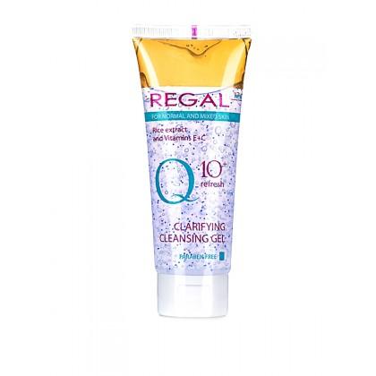Гель для умывания для нормальной кожи Q10, 100 мл.- Regal, Болгария