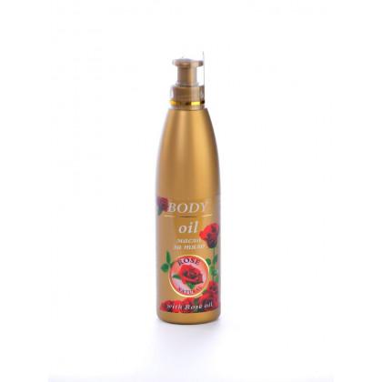 Масло для тела (массаж масло) Rose Natural, 250 мл. – Bulfresh, Болгария