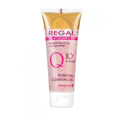 Гель для умывания для сухой и чувствительной кожи Q10, 100 мл. - Regal, Болгария