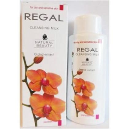 Туалетное молочко для сухой кожи лица с экстрактом Орхидеи Natural Beauty,