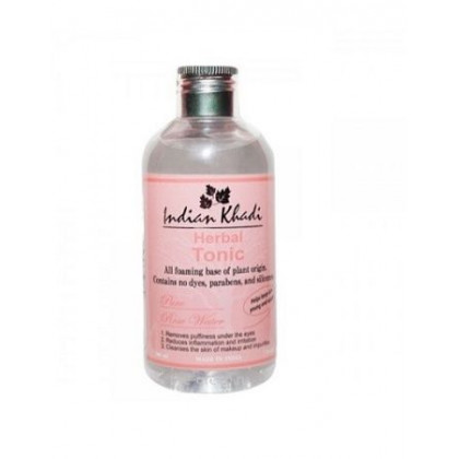 Натуральная розовая вода-тоник, 200 мл.- Indian Khadi