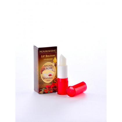 Питательный бальзам для губ с аргановым маслом, помада