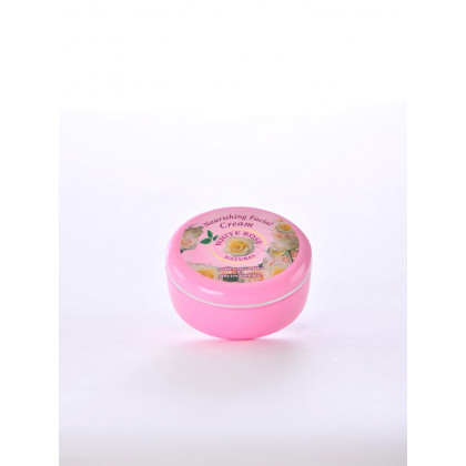 Питательный крем для лица с растительным комплексом, White Rose Natural