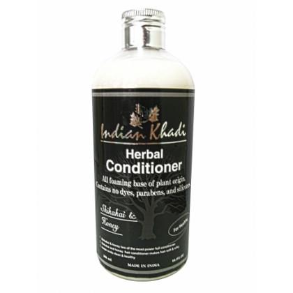 Кондиционер-оздоровление и увлажнение волос с медом и акацией, 300 мл.- Indian Khadi