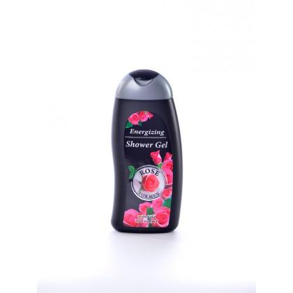 Тонизирующий гель для душа c экстрактом дикой розы Rose For Men, 250 мл. - Bulfresh, Болгария