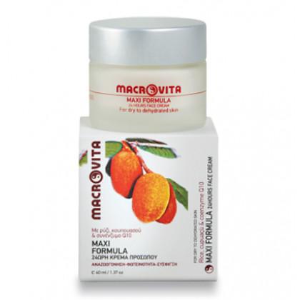 Крем для лица Maxi formula 24 часа с рисом, купуасу & коэнзим Q10