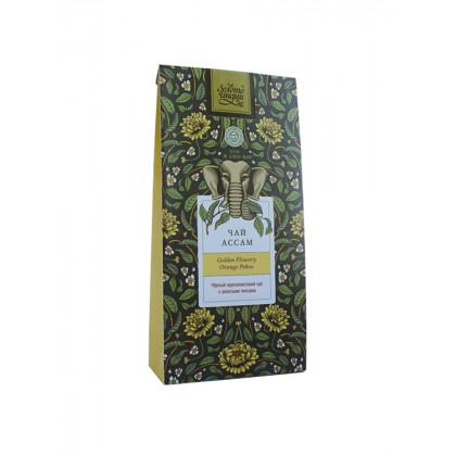Чай чёрный крупнолистовой ASSAM GFOP - Golden Tips Tea, Индия