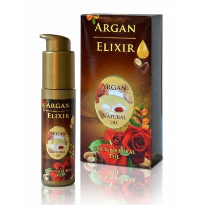 Солнцезащитный крем с аргановым маслом, розовой водой, D-пантенолом, SPF20, 50 мл. - Bulfresh, Болгария