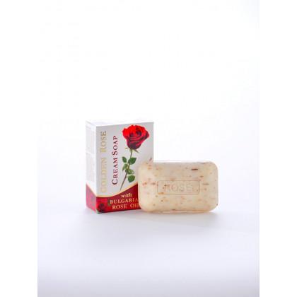 Крем-мыло с розовым маслом Golden Rose, 100 гр. - Bulfresh, Болгария