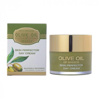 Дневной крем для нормальной и склонной к жирности кожи Olive Oil of Greece 50 мл. - Bio Fresh, Болгария