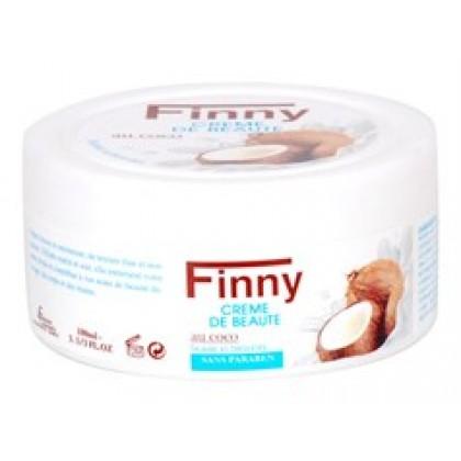 Крем для лица с Кокосовым маслом FINNY, 100мл. - NaturArgan, Марокко