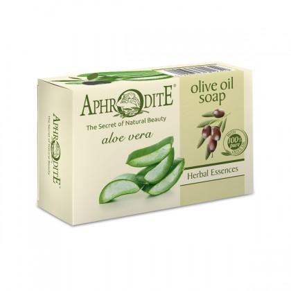 Оливковое мыло с алоэ вера Z-81, 100 гр. - Афродита, Греция