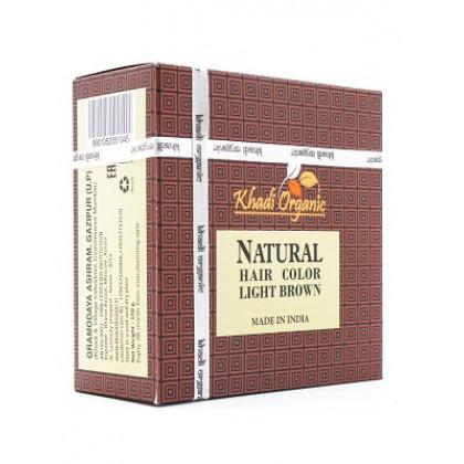 Натуральная хна для волос Светло-коричневая