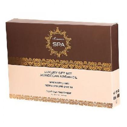 Подарочный набор по уходу за волосами Moroccan Spa с маслом марокканского аргана
