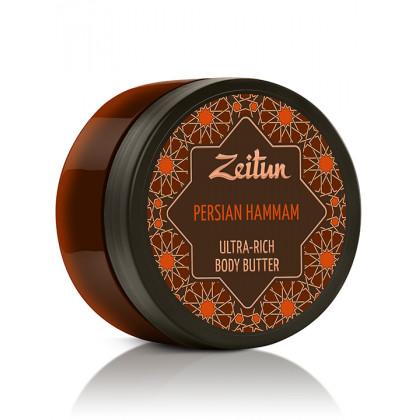 """Крем-масло для тела """"Персидский хаммам"""", детокс и обновление, 200 мл. - Zeitun, Иордания"""