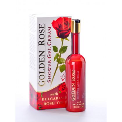 Крем-гель для душа увлажняющий с розовым маслом, 250 мл. Golden Rose – Bulfresh, Болгария