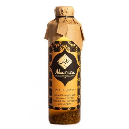 Натуральный шампунь с маслом нарда и пажитником для объема и густоты волос