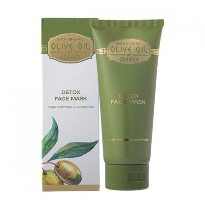 Детокс-маска для лица Olive Oil of Greece 100 мл. - Bio Fresh, Болгария