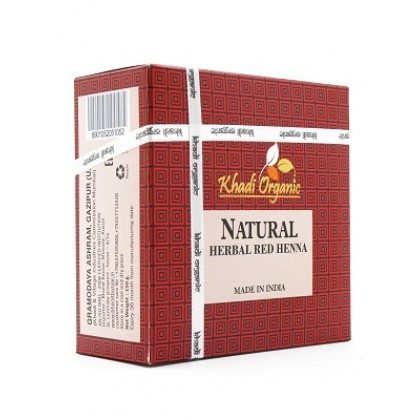 Натуральная хна для волос (медно-красная), 150 гр - Indian Khadi, Индия