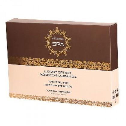 Набор средств по уходу за волосами Moroccan Spa с маслом марокканского аргана - Shemen Amour, Израиль