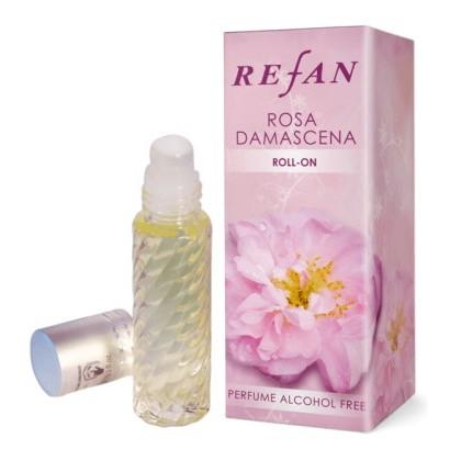 Масло парфюмированное Роза Дамасцена, 10 мл. - Refan, Болгария