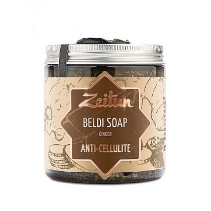 Деревенское мыло Бельди №5 антицеллюлитное с имбирем, 250 мл. - Зейтун, Иордания
