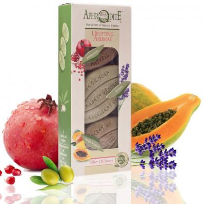 Бодрящие ароматы – подарочный набор 3 мыла Z-3C